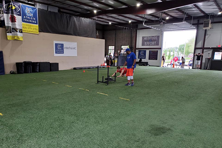 Elite Sports Performance Training by Kansas City Athlete Training for both youth and high school athletes with group classes and private training along with camps and speed and agility classes for all sports and athletics in Kansas City Missouri
