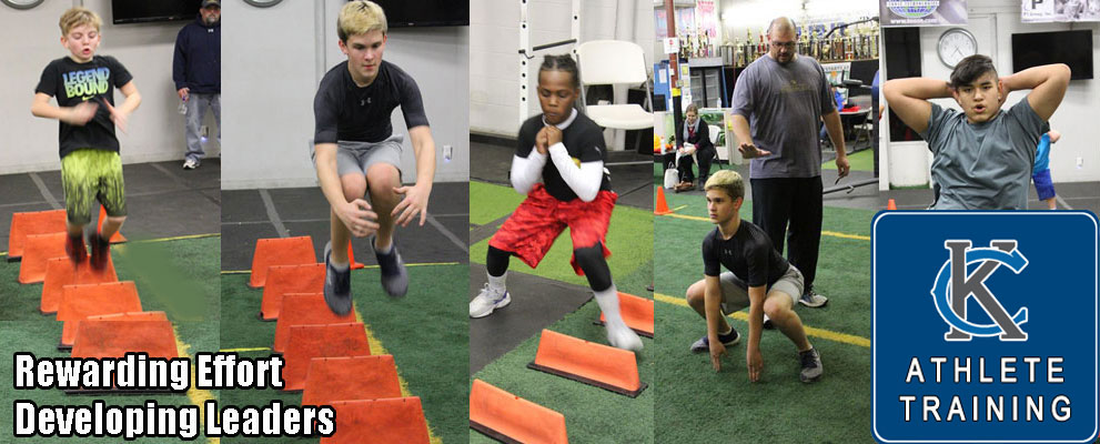 Affordable Speed and Agility Group Classes for boys and girls both youth and high school athletes at Kansas City Athletic Training