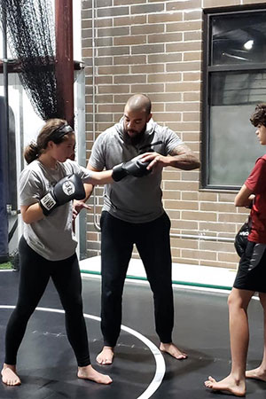Austen Ford Lead Instructor for Sports Performance Training at Kansas City Athlete Training in the Heim Electric Park Disctric in Kansas City Missouri