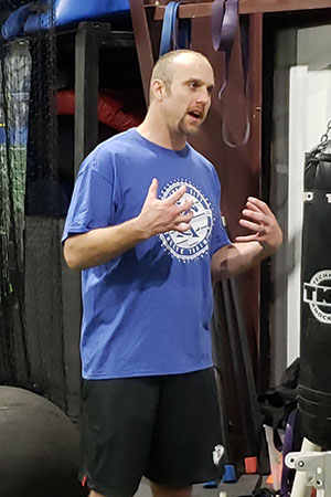 Chris Eads Lead Instructor for Sports Performance Training at Kansas City Athlete Training in the Heim Electric Park Disctric in Kansas City Missouri