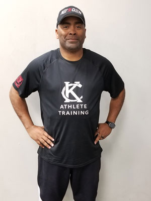 Keusi Pannell (CSAS) Lead Instructor for Sports Performance Training at Kansas City Athlete Training in the Heim Electric Park Disctric in Kansas City Missouri